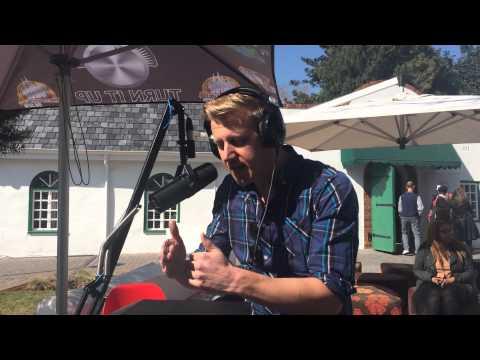 Gareth Cliff interviewed on VoWFM for Joburg Radio Days, July 2014