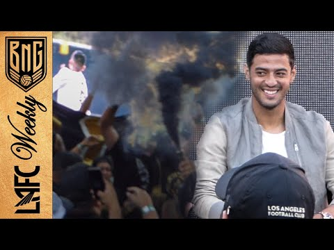 LAFC Fans Welcome Carlos Vela to Los Angeles