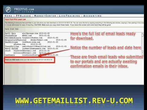Want To Buy Targeted Email List? I'll Give You FREE - YouTube