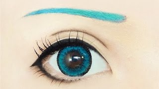 Hatsune Miku | Tutorial : Anime Eye Makeup 191