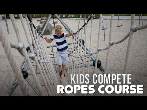 KIDS NINJA WARRIOR | Kids Compete!