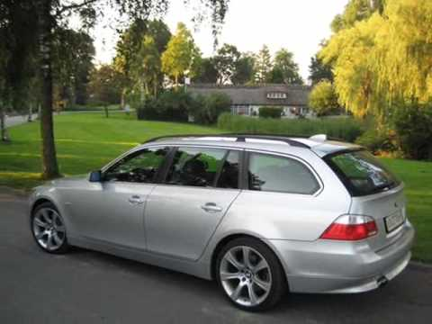 bmw 525i e61 with steptronic youtube. Black Bedroom Furniture Sets. Home Design Ideas