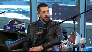 Packers QB Aaron Rodgers Reacts to Alex Smith to Redskins Trade   The Dan Patrick Show   2/1/18