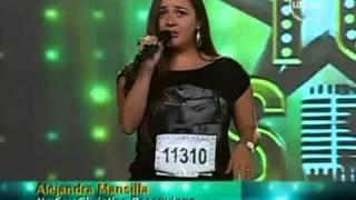 Yo Soy 03-04-13 Casting CRISTINA ROSENVINGE [Alejandra Mansilla] Yo Soy 2013 [03/04/13