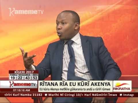 Ritana Ria EU Kuri Akenya