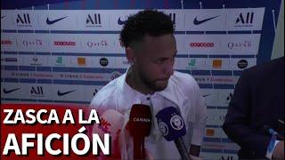 La frase final de Neymar a los fans del PSG que hará que le piten más: zasca de época | Diario AS