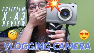 FUJIFILM X-A3 REVIEW | NEW CAMERA | VLOG | Janine's Channel ❤