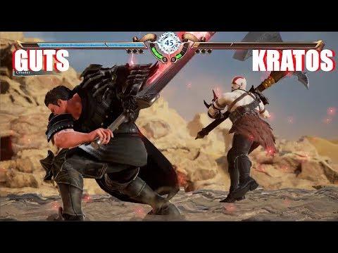 Soul Calibur 6 - Guts vs Kratos (Berserk vs God of War Character Creation) thumbnail