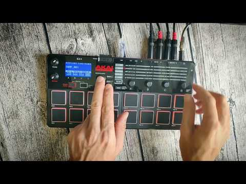 Akai MPX16 sampler  full review and demo