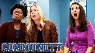 Abed's Been Secretly Charting Menstrual Cycles | Community