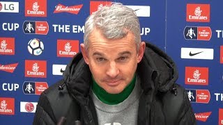 Nottingham Forest 4-2 Arsenal - Gary Brazil Full Post Match Press Conference - FA Cup