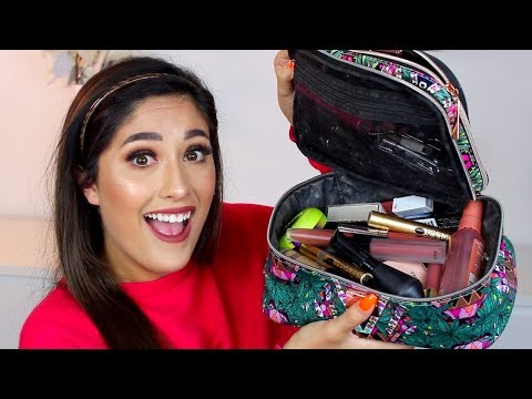 MY TRAVEL MAKEUP BAG 2019 | How I pack & packing TIPS thumbnail