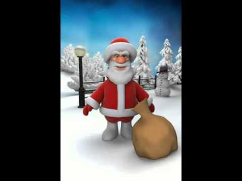 Immagini Simpatiche Di Babbo Natale.Una Canzone Divertente Di Babbo Natale