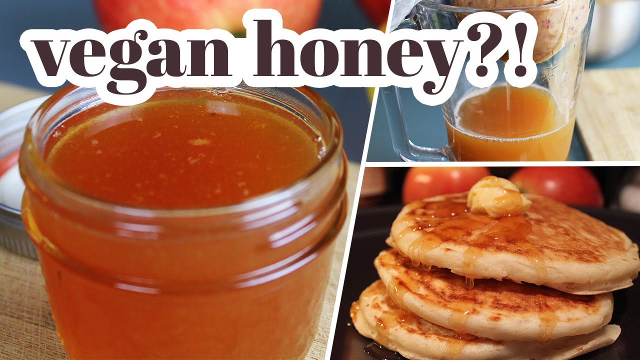 Vegan Honey?!   Made from Apples, Sugar and Lemon
