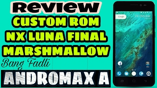 Custom ROM Nx Luna Final v125 Andromax A - Review