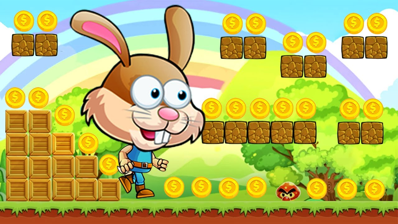 Bunny´s World - Juegos Para Niños - Aventuras de Bunny