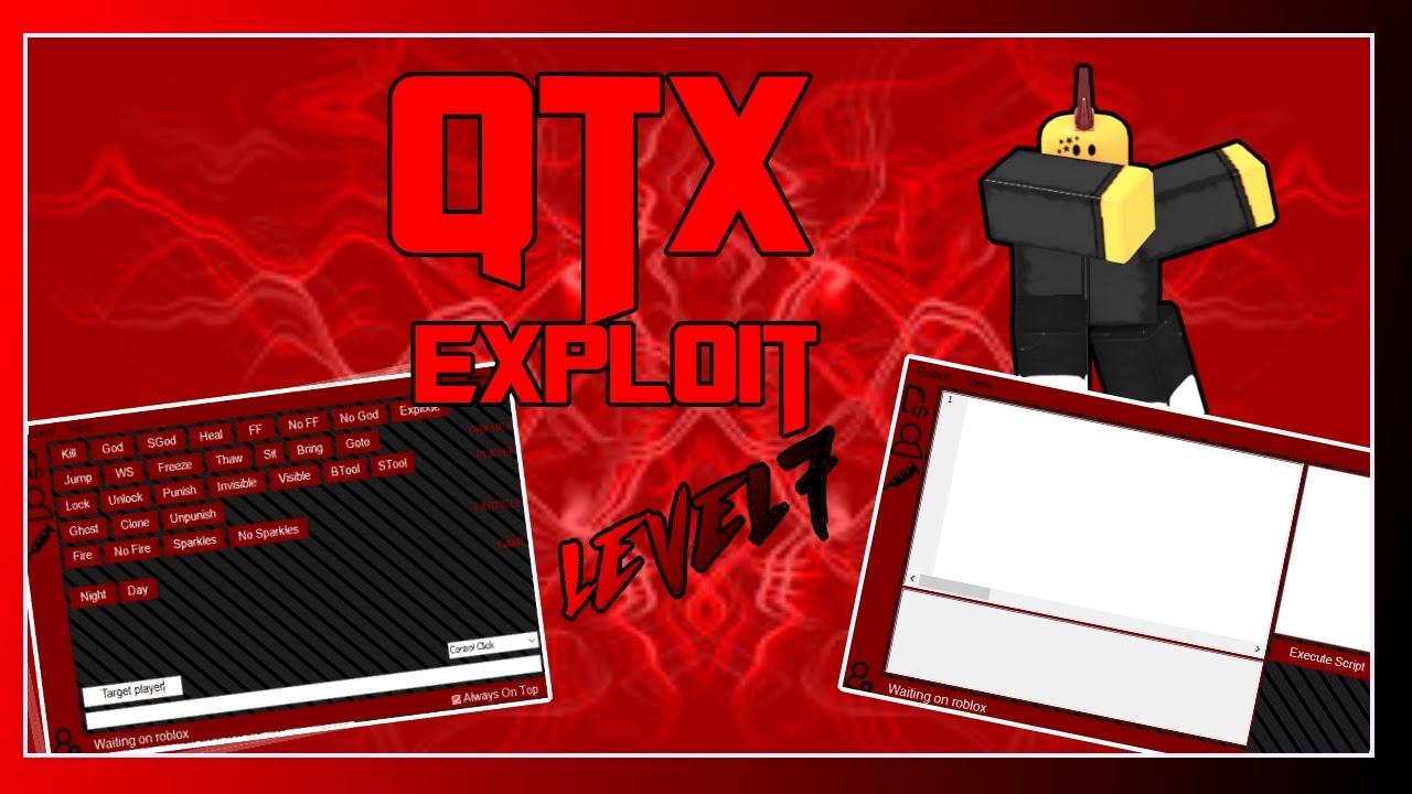 Patched Roblox Exploit Qtx Insane Exploitlevel 7 Script Executortrialquick - qtx roblox exploit