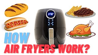 ▶️How Air Fryers Work ▶️ Simple Demonstration w/ Actual Cooking
