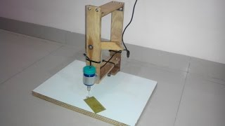 Home Made PCB Drilling Machine