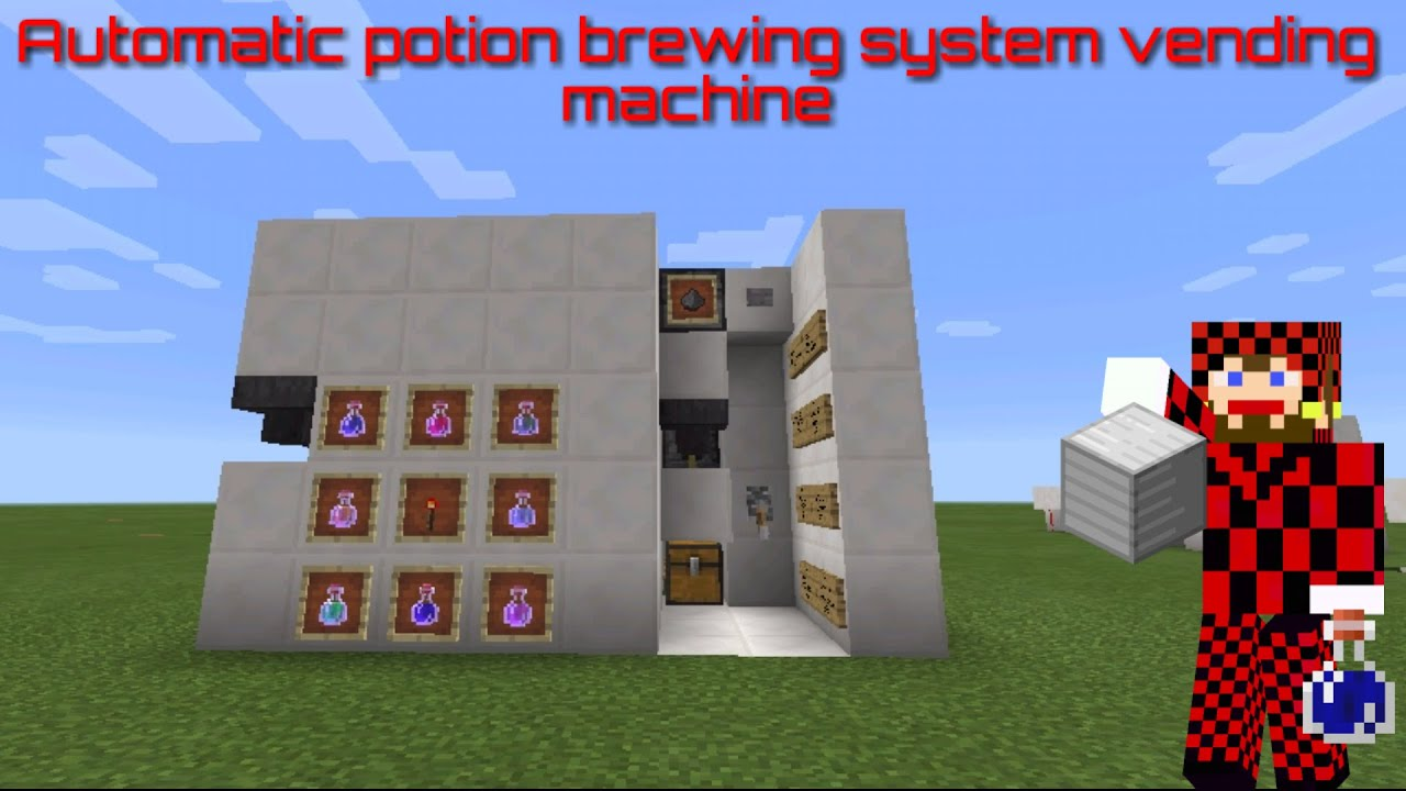 Compact Brewing System Minecraft Pocket Edition Compact Automatic Potion Brewer