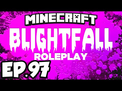 Blightfall: Minecraft Modded Adventure Ep.97 - POPULATING THE CLEAN FLOATING CITY! (Modded Roleplay)