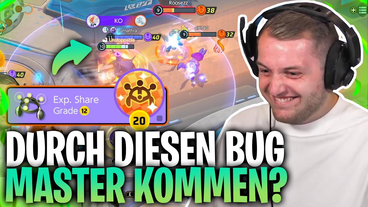 🤯🤩 Wir VERSUCHEN etwas VERRÜCKTES! |Völlige OP Taktik in Pokemon Unite gefunden?!