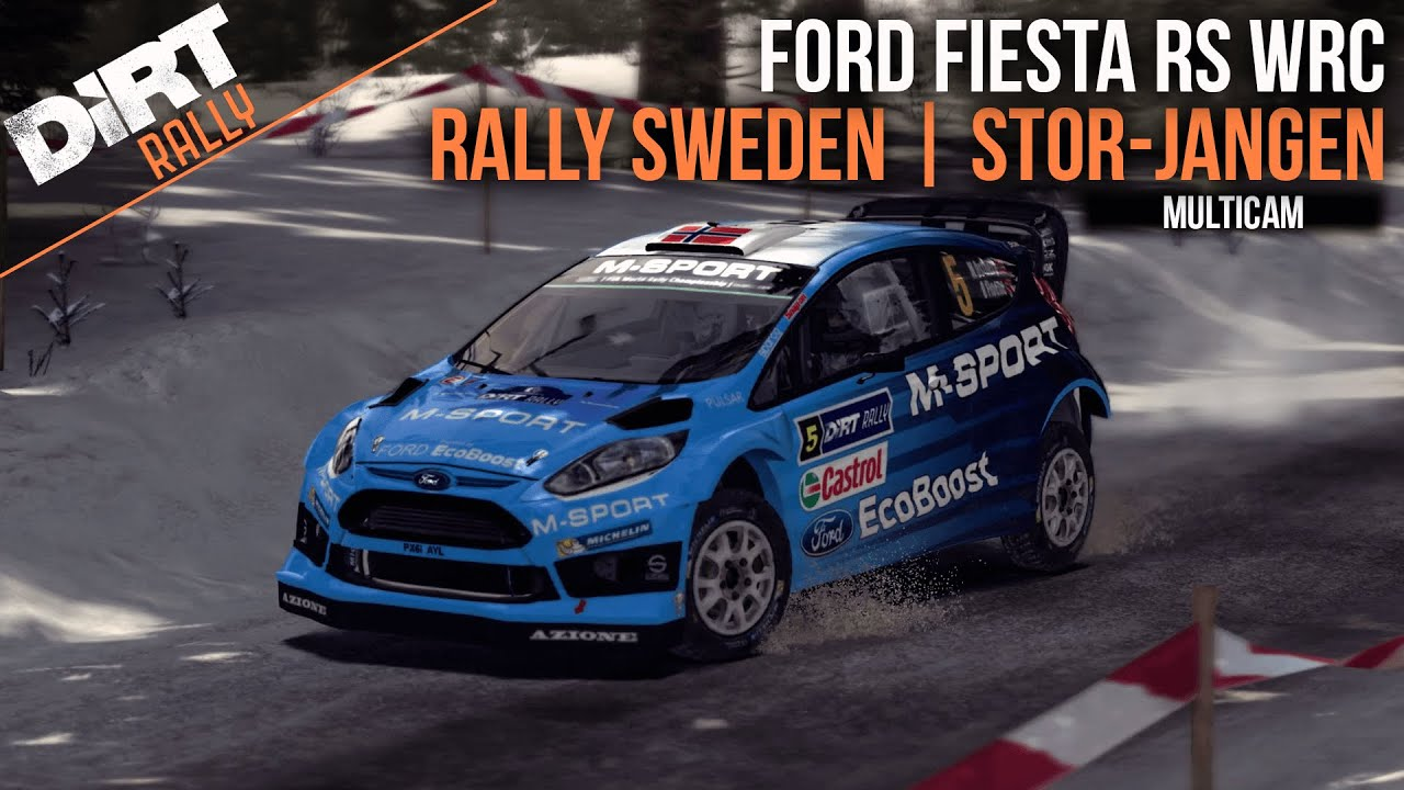 dirt rally 2016 m sport ford fiesta rs wrc rally. Black Bedroom Furniture Sets. Home Design Ideas