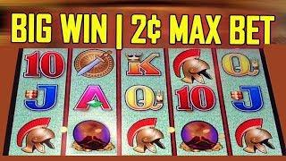 🐋 POMPEII SLOT |💥 BIG WIN | 2c MAX BET LIVE! 💥 | PREMIUM SYMBOL WIN - Slot Machine Bonus