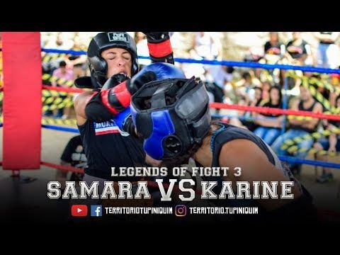 Karine vs Samara - Legends of Fight 3