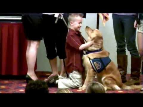 Lake Ronkonkoma Boy Graduates with CCI Assistance Dog