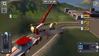Make street off-road funny for kids learn drive construction vehicles