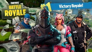 $10 PER KILL CHALLENGE to my SQUAD MEMBERS!!! $140 GIVEN AWAY!!! Fortnite: Battle Royale Season 3