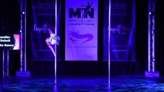 Jennifer Scholl - Minnesota Pole Dance Competition 2016 - 2nd Place Advanced Pole Division