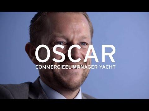 Yacht: welkom in ons netwerk, Oscar, Commercieel Manager bij Yacht Engineering