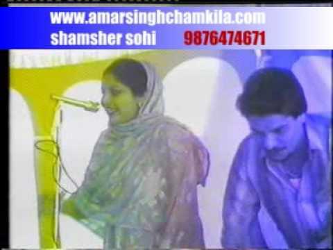 Chamkila live Talwar main kalgi dhar di han
