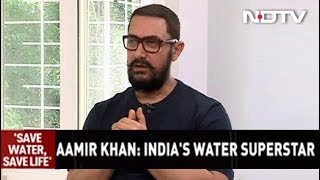 """Jal Shakti Abhiyan Can Be Bigger Than Swachh Bharat"": Aamir Khan To NDTV"