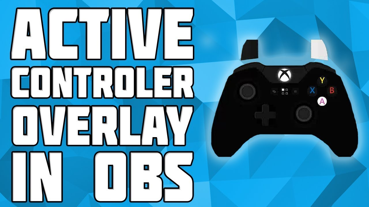 How to Show your Controller on OBS! Display Controller in LiveStream!  Onscreen Controls OBS!