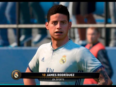 ¡Imperdible! En FIFA 17 James Rodríguez es un crack | Blu Radio