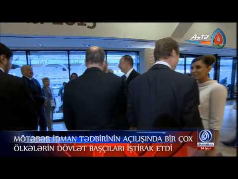 """""""Həftənin yekunu"""" 14.06.2015-ci il. (""""Baku-2015"""" Xüsusi buraxılış)"""