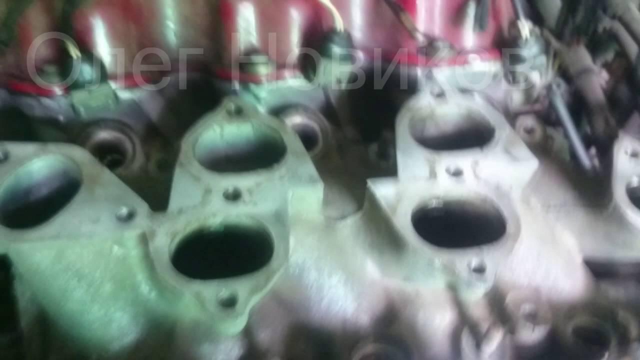 Установка газа Нисан Максима мотор VG30E ролик 1