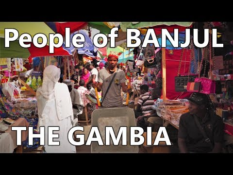 THE GAMBIA // PEOPLE OF BANJUL // TRIP (2018)