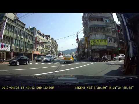 計程車違規臨停-成美橋