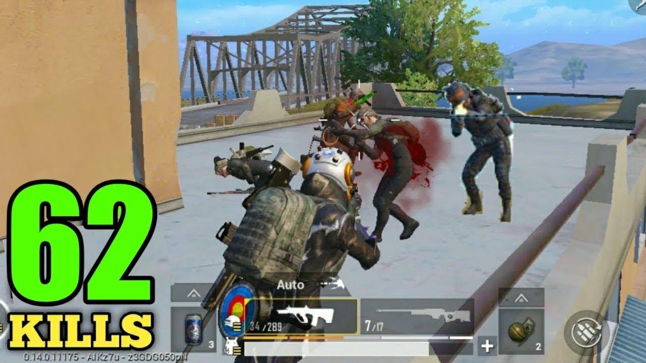 FULL SQUAD KILLS WITH AUG IN PUBG MOBILE !! 2 SQUAD WIPE WITH AUG IN PUBG SOLO VS SQUAD 15 KILLS