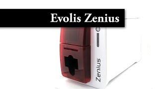 Evolis Zenius Classic line Fire Red Card Printer - USB - ZN1U0000RS