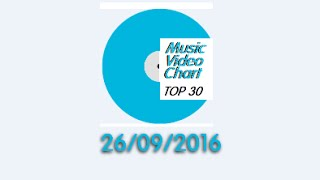 ClipNews Music Video Chart | Top 30 | 26, September, 2016