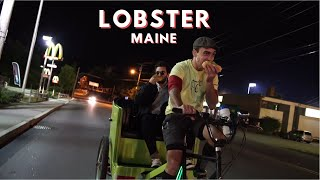 Loading Up on Lobster in Portland, Maine | ALL NIGHTER