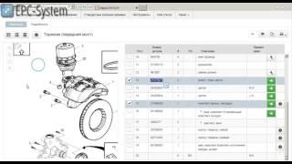 видео Запчасти для Volvo, электронный оригинальный каталог запчастей Volvo