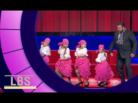 Meet sassy Flamenco Dancers Las Torbellino De Estepona   Little Big Shots Aus Season 2 Episode 2