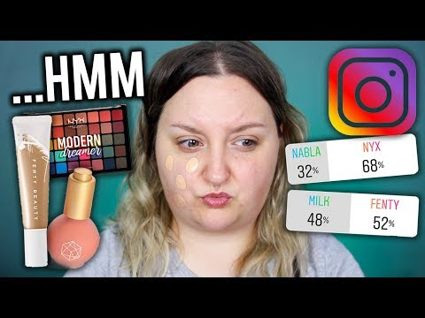 INSTAGRAM CHOOSES MY FULL FACE OF FIRST IMPRESSIONS MAKEUP