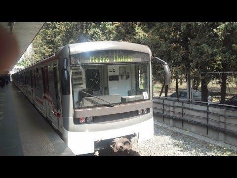 From Didube metro station to Gotsiridze (Tbilisi). От станции метро Дидубе до Гоциридзе (Тбилиси)